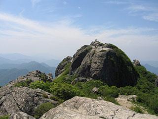 伽耶山の牛頭峰(上王峰)